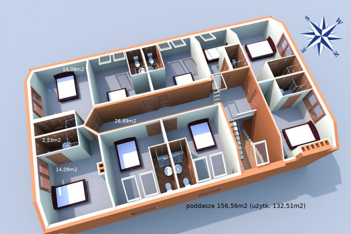 Dom wolnostojący, Gdańsk Kowale, 618.98m2 - Biuro Nieruchomości Partner - zdjęcie nr.11