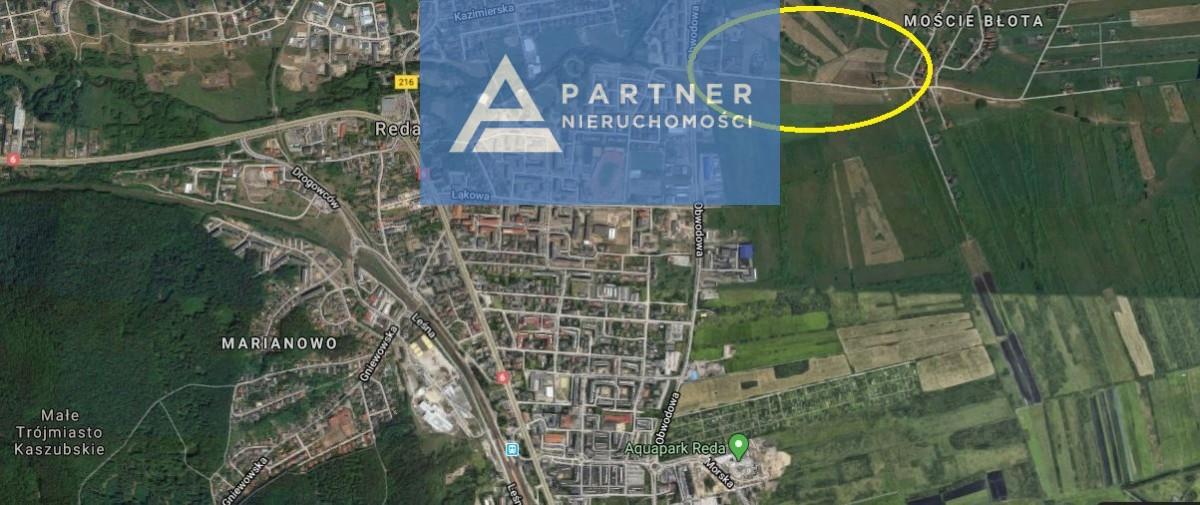 Działka pod bud. 1-rodz., Reda, 4672.00m2 - Biuro Nieruchomości Partner - zdjęcie nr.6